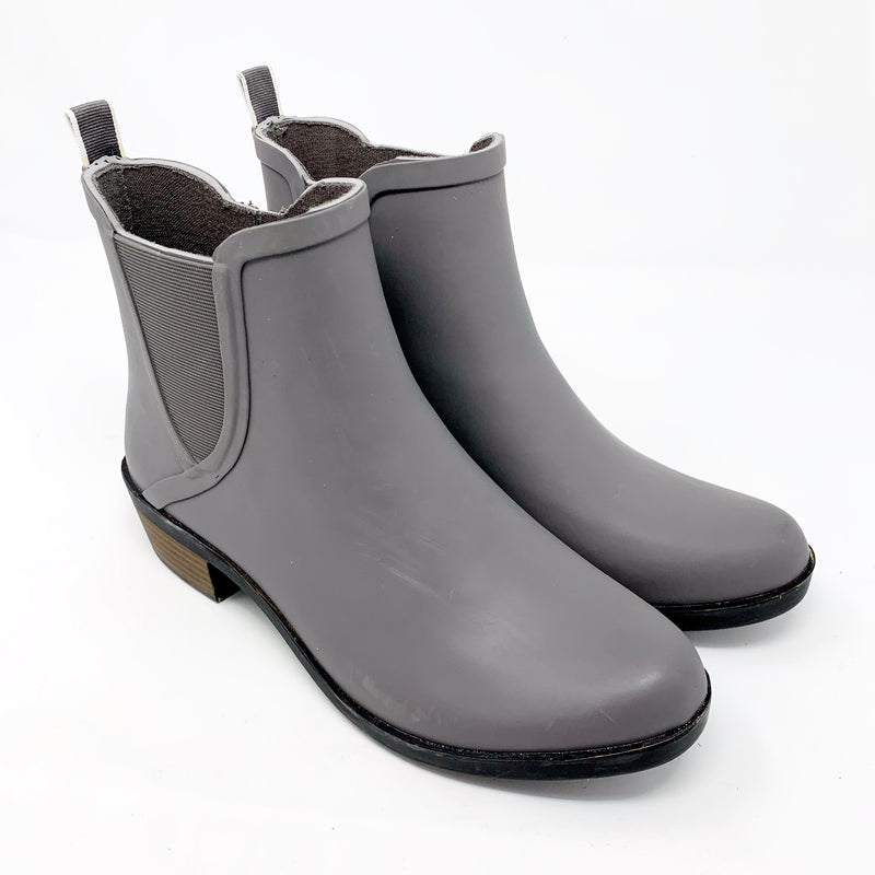Lucky Brand Basel Rain Bootie, Gray size 8