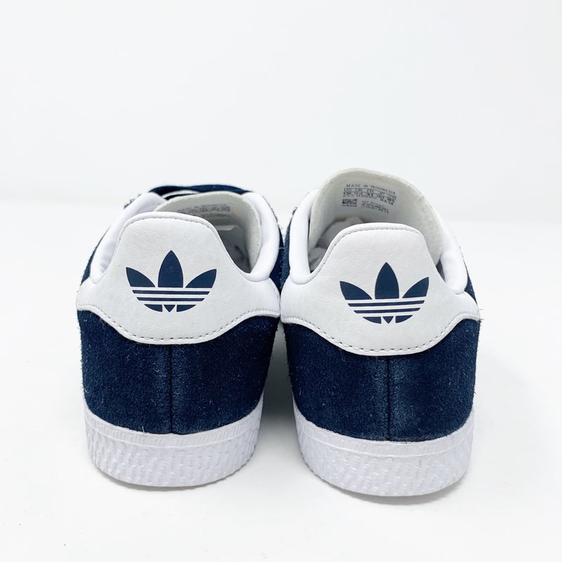 Adidas Gazelle Sneaker, Navy Little Kid 13