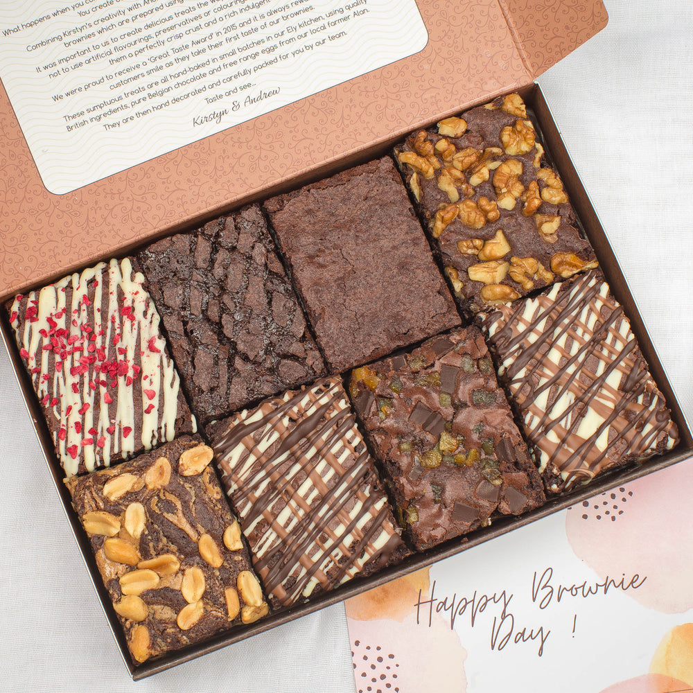 Gift Boxes - Gourmet Brownie