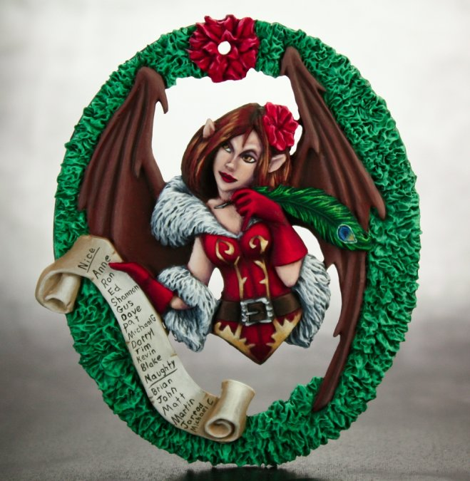 Reaper 2011 Christmas Sophie Ornament | Grognard Games