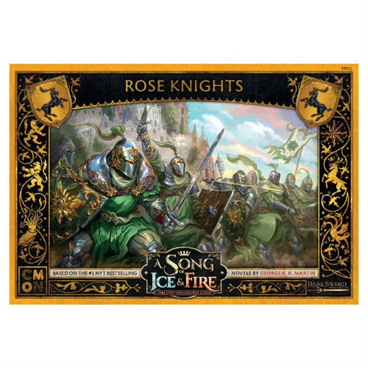 Song of Ice and Fire Baratheon Rose Knights | Grognard Games