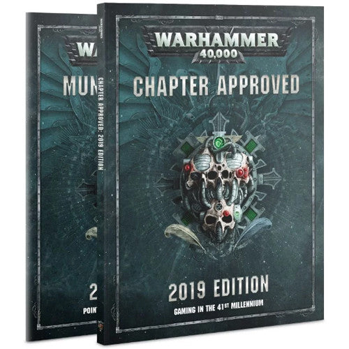 Warhammer 40K: 2019 Chapter Approved | Grognard Games