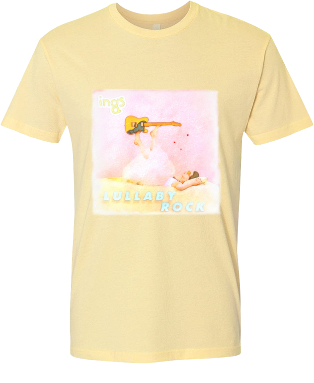 Lullaby Rock Watercolor Tee