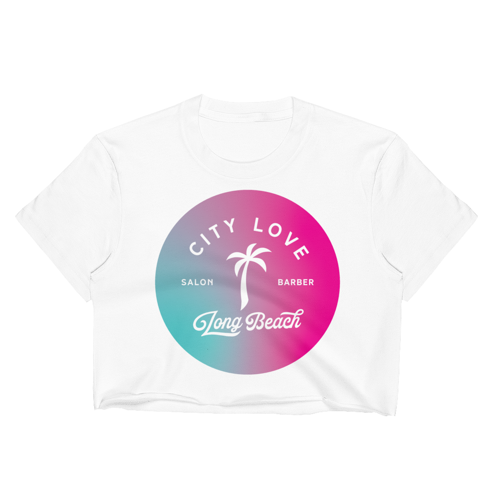 City Love - 84' Women's Crop Top