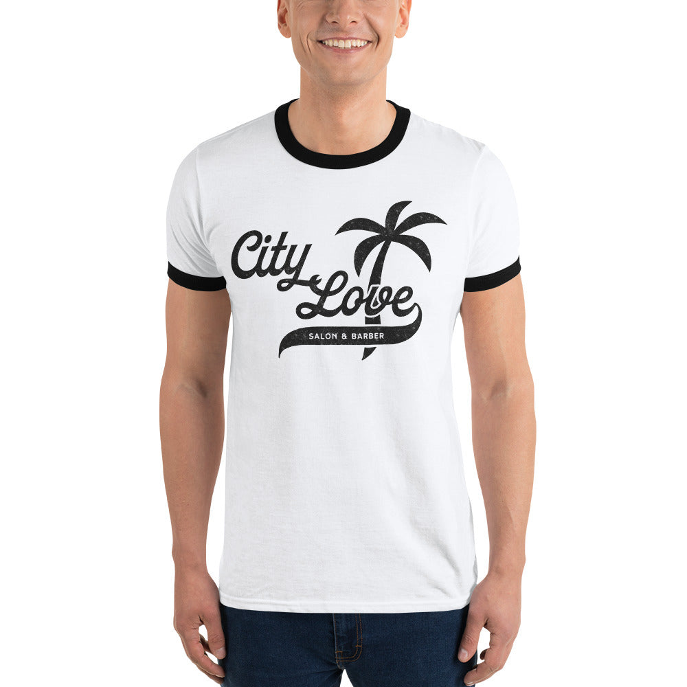 City Love Ringer Tee