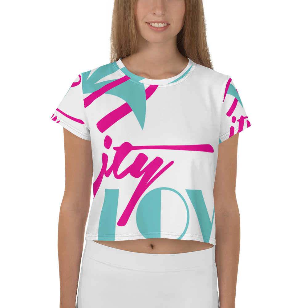 City Love Drop Top Crop Top