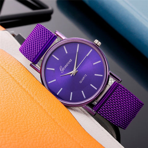 Women's High-end Water Resistant Fashion Watch - Dazzled Jewels