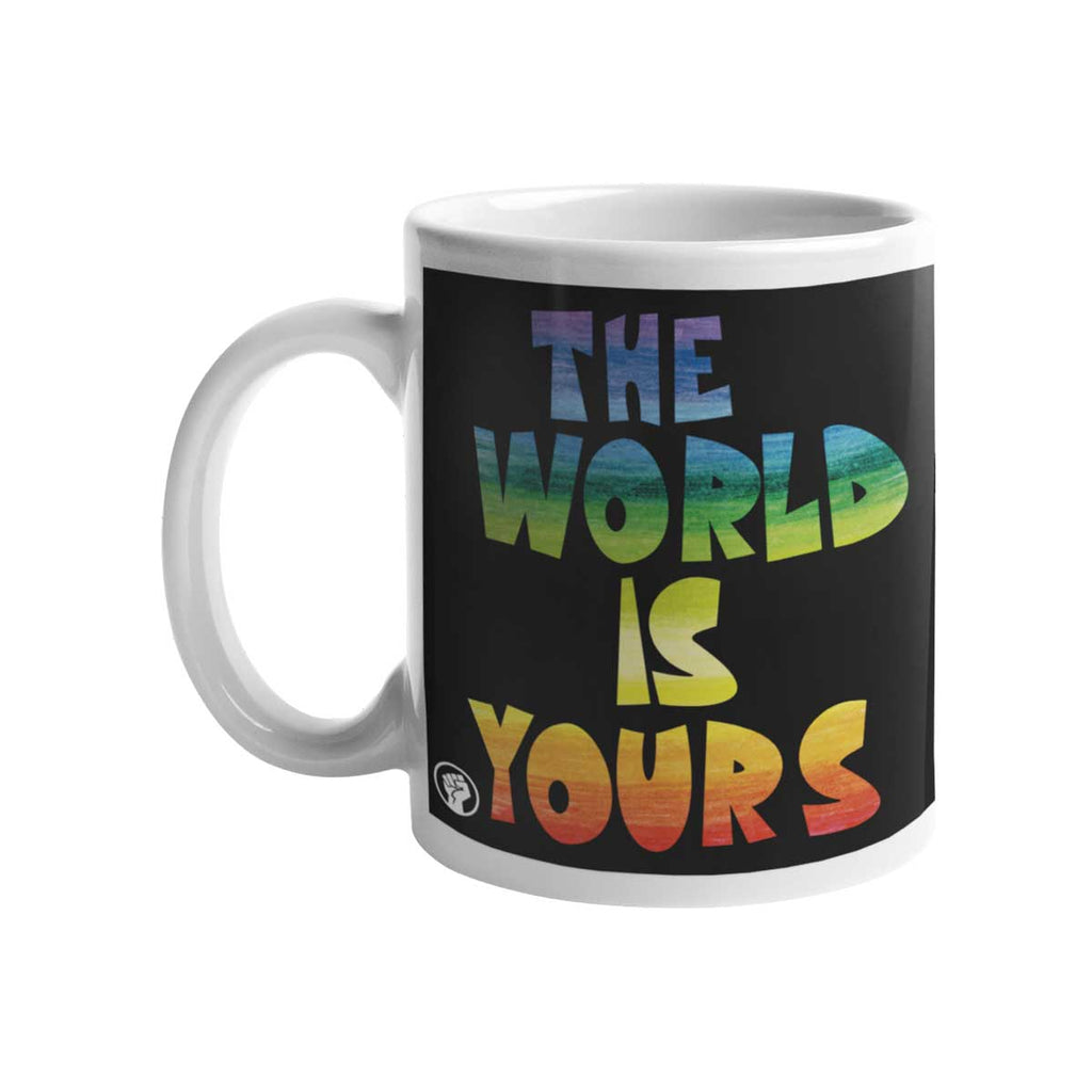 Caneca The World Is Yours