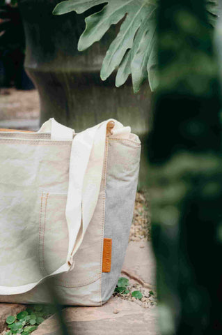 Sustainable grey insulated cooler