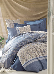 Blue Fall Duvet Cover Set | Blue