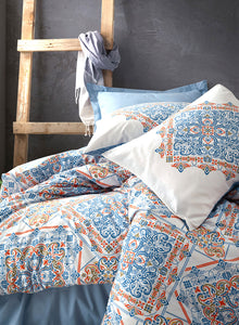 Blue Pattern Duvet Cover Set | Blue