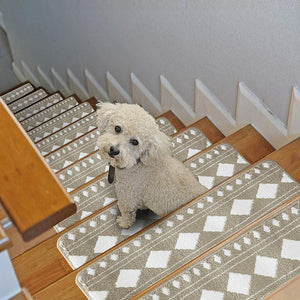 "Stair Treads Rug 9""x27"" Diamond Collection 