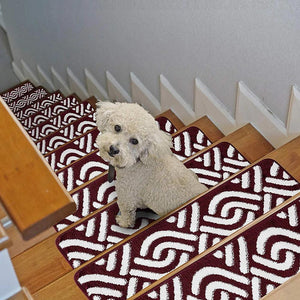"Stair Treads Rug 9""x27"" Braid Collection 
