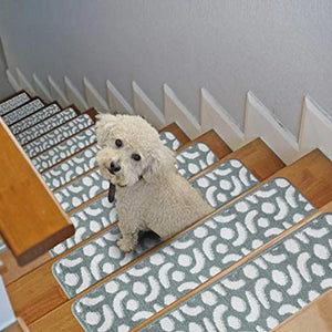 "Stair Treads Rug 9""x27"" Eye Collection 
