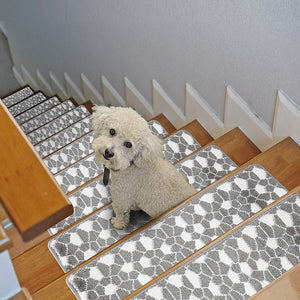 "Stair Treads Rug 9""x27"" Figure Collection 