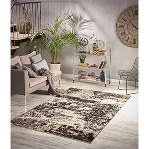 Homeward Collection Non-Skid Area Rug | 5X7 Ft. | Beige