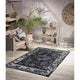 Homeward Collection Non-Skid Area Rug | 5X7 Ft. | Black