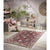 Homeward Collection Non-Skid Area Rug | 5X7 Ft. | Maroon