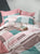 Mint Meets Pink Duvet Cover Set | Pink