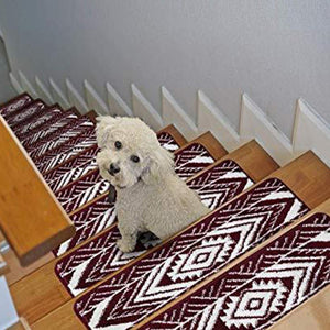 "Stair Treads Rug 9""x27"" Monument Collection 