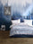 Off White Stripes Duvet Cover Set | Blue