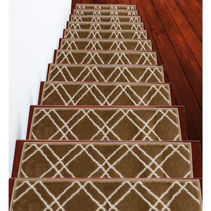 "Stair Treads Rug 9""x28"" Vintage Collection 