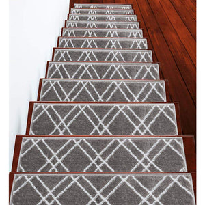 "Stair Treads Rug 9""x27"" Vintage Collection 
