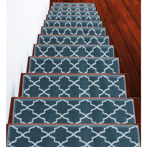 "Stair Treads Rug 9""x27"" Trellisville Collection 