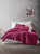 Wine Forever Duvet Cover Set | Claret