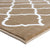 Sussexhome Beatrice Perfect Soft Area Rugs | Trellisville - Beige/White - 4F.X6F.