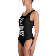 Ship Faced One-Piece Swimsuit