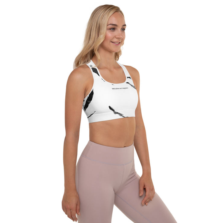 Sweating Out Tequila Padded Sports Bra