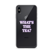 What's the Tea? iPhone Case