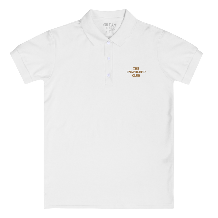 The Unathletic Club Women's Polo Shirt