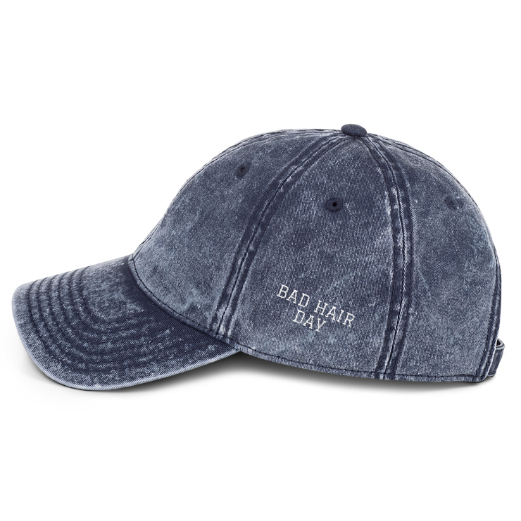 'Bad Hair Day' Denim Dad Hat