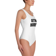 Getting Married One-Piece Swimsuit