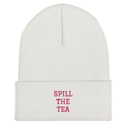 Spill the Tea Cuffed Beanie
