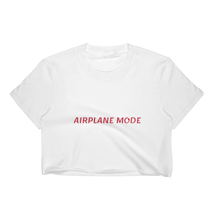 Airplane Mode Crop Tee