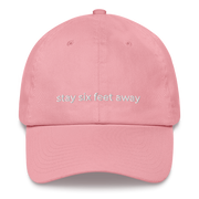 six ft away dad hat