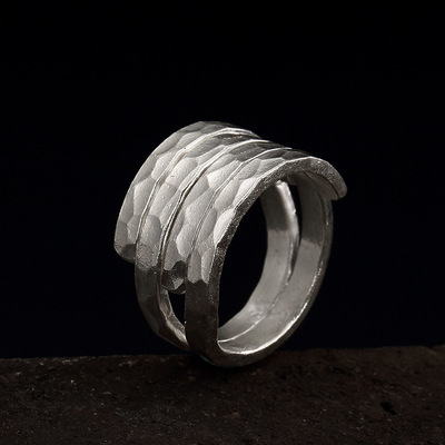 Handmade Hammered Ring