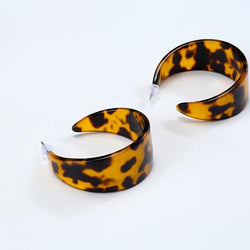 Vintage Style Semicircle Earrings
