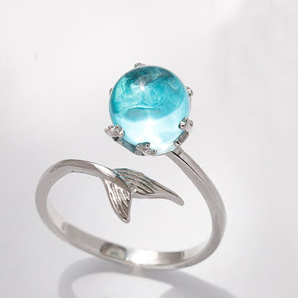 Crystal Mermaid Ring