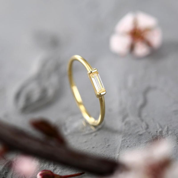 Gold Gemstone Ring