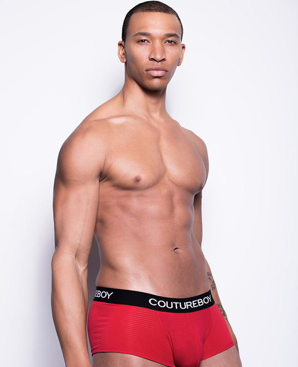 coutureboy underwear mesh stripe trunk