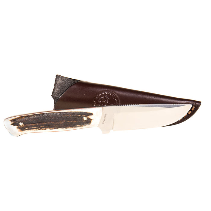 Arbolito Stag Boker USA Knife w/Sheath