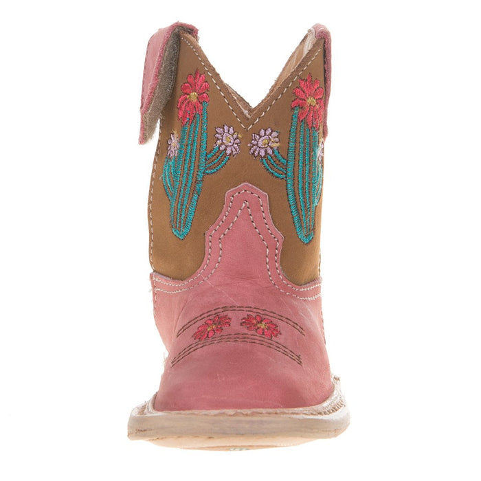 Infant Roper Cowbaby Cactus Pink Boot