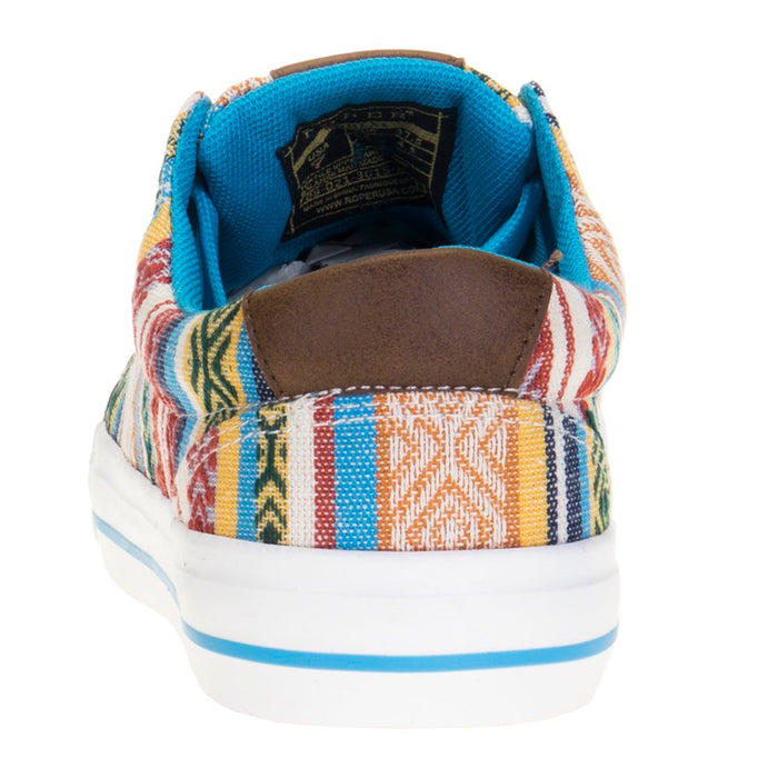 Women's Roper Angel Fire Blue Aztec Tennis Shoe