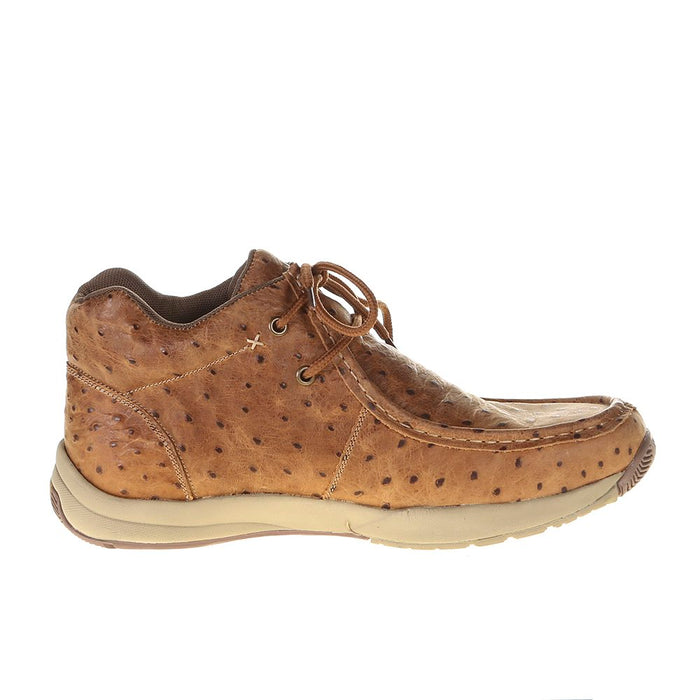 Men's Roper Clearcut Vintage Faux Ostrich Leather Print Casual Shoe