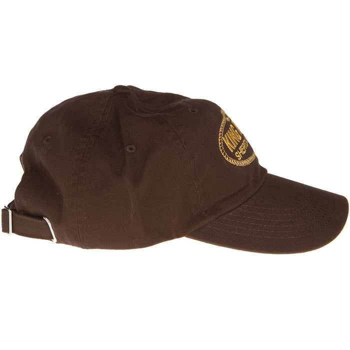 Brown King Relaxed Low Profile Cap