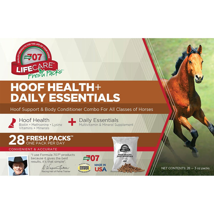 Formula 707 Hoof Health   Daily Essentials Combo Fresh Packs�